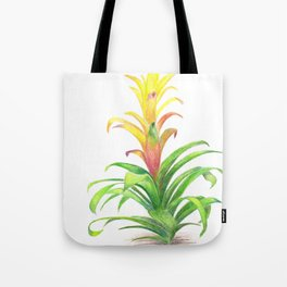 Bromeliad - Tropical plant Tote Bag