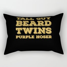 Beard Tall Men Wear Beards Rectangular Pillow