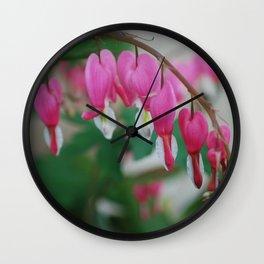 Hearts Aligned Wall Clock