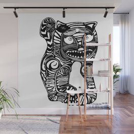 Woah Cat Wall Mural