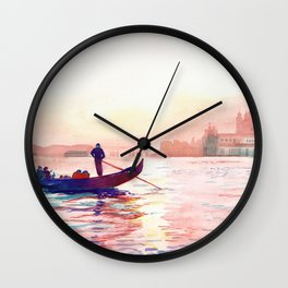 Canal Grande, Venice Wall Clock