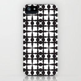 Globule pattern iPhone Case