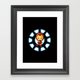 Chibi Ironman Framed Art Print