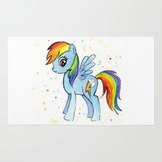 Rainbow Dash MLP Pony Rug