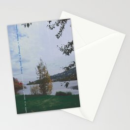 Every Leaf is a Flower - simple Stationery Cards