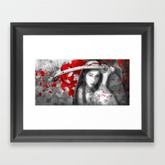 Kazane [ No Sound but the wind] Framed Art Print