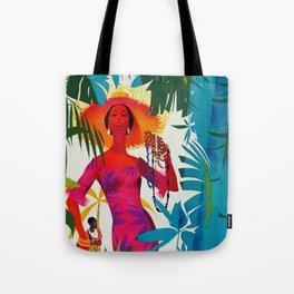 Vintage Caribbean Travel - Cuba Tote Bag