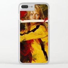 Kill Bill Clear iPhone Case