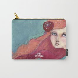 Beautiful Faces by Jane Davenport Carry-All Pouch