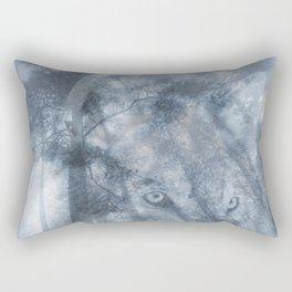 Wolf Spirit  Rectangular Pillow