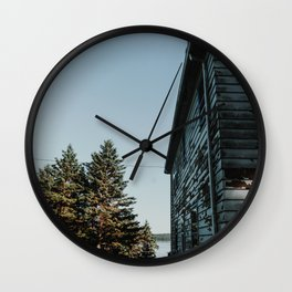 Alaskan Home Wall Clock
