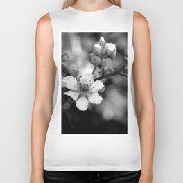 Blackberry Flower Biker Tank