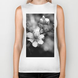 Blackberry Flower Biker Tank