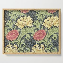 William Morris Chrysanthemum Serving Tray