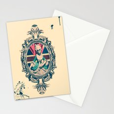 Bourgeoisie Woman Stationery Cards