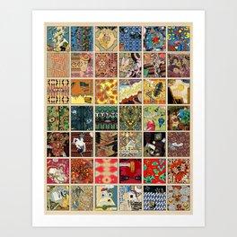 42 Panels (1) Art Print