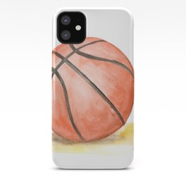 Basketball Watercolor iPhone Case