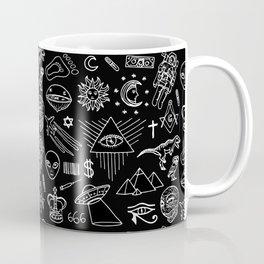 Conspiracy pattern Coffee Mug