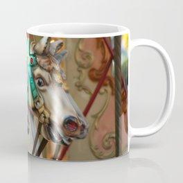 Vintage Carousel Horses Coffee Mug