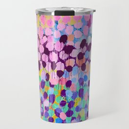 Paint dots Travel Mug