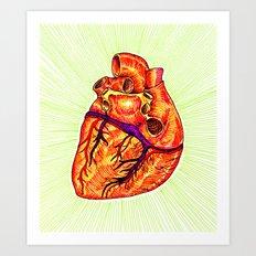 Hearty Art Print