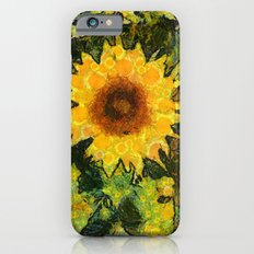 you can't have enought sunflowers iPhone 6s Slim Case