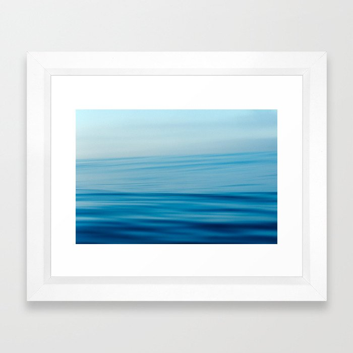 Venice Blur Framed Art Print