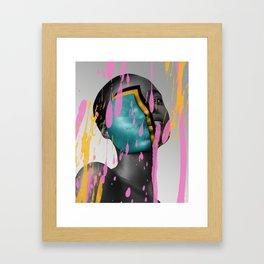 Black Beauty Woman Fashion Color Art 1 Framed Art Print