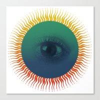 third eye Canvas Prints featuring Third Eye by ochre7