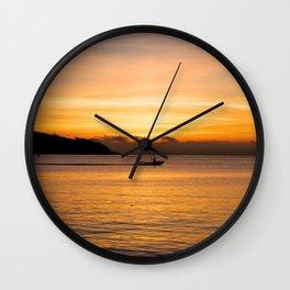 San Francisco Bay Wall Clock