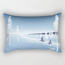 Polarnight Rectangular Pillow