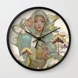 citrine Wall Clock