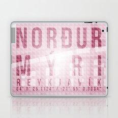 Nordurmyri Pink Laptop & iPad Skin