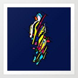 Broken Joi Art Print