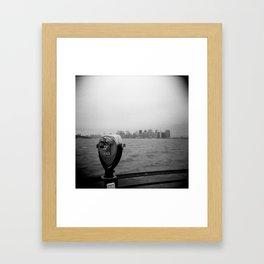 New York 01, Holga Framed Art Print