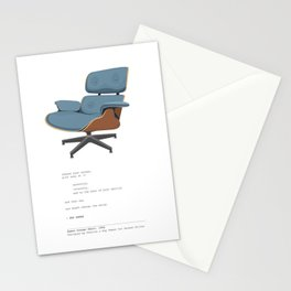 Eames Lounge Chair Stationery Cards