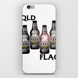 Queensland Flag xxxx iPhone Skin