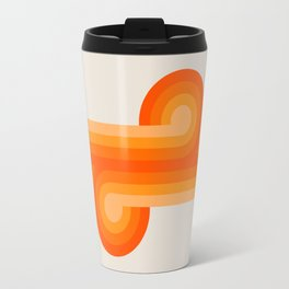 Creamsicle Knots Travel Mug