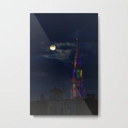 la lune, notre voisine Metal Print