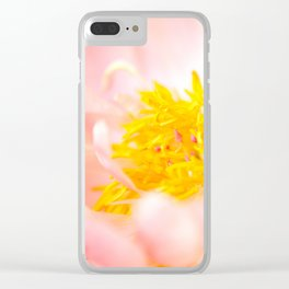 peonies [alive] 04 Clear iPhone Case
