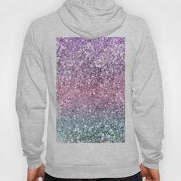 Unicorn Girls Glitter #5 #shiny #pastel #decor #art #society6 Hoody