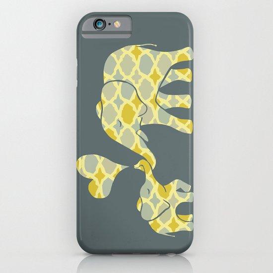 Elephant Hugs iPhone & iPod Case