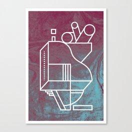 No 3 Canvas Print