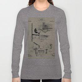 Respirator-1911 Long Sleeve T-shirt