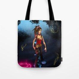 .:Through the Mist:. Tote Bag