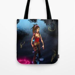 .:Through the Mist:. Tote Bag