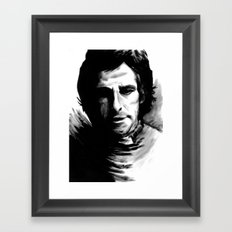 DARK COMEDIANS: Ben Stiller Framed Art Print