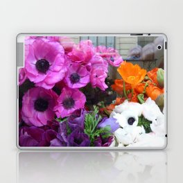 Flower Shop Window Laptop & iPad Skin