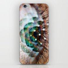 Green Eyed Beauty iPhone & iPod Skin