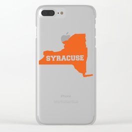 Syracuse Clear iPhone Case